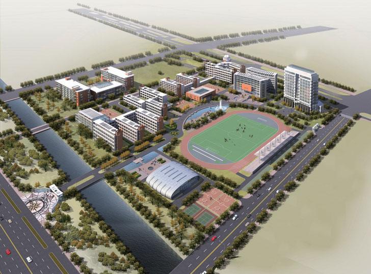海门德明中学校园整体设计